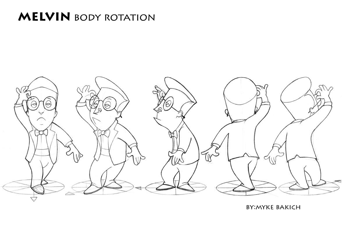 Sheridan College Character Design : Animation portfolio workshop character design december