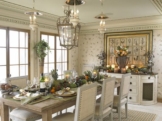 Southern Chateau: Cindy Rinfret In Traditional Home