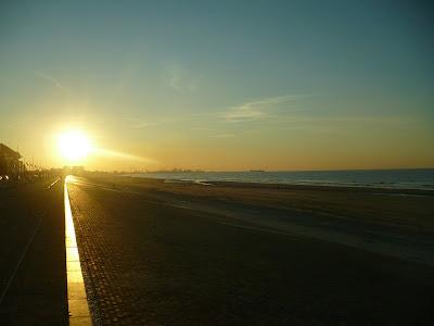 coucher de soleil plage de dunkerque par pierre-yves gires