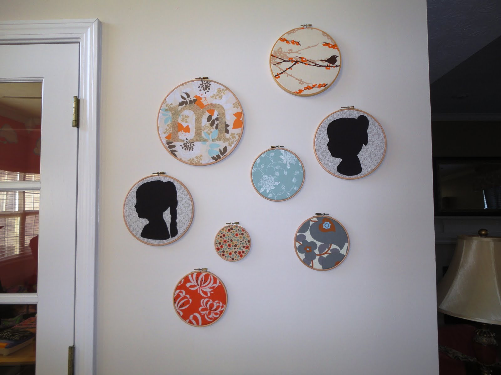 Hanging On By A Thread Embroidery Hoop Wall Decor