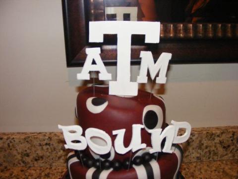Cakebyjess Texas A And M Grad Cake