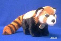 red panda plush stuffed animal video
