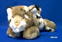 bobcat plush stuffed animal