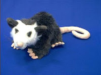 opossum stuffed animal plush