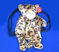 leopard backpack child youth