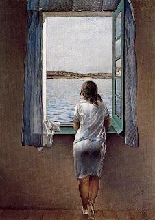Catal la noia en la finestra salvador dal i dom nech for Es finestra
