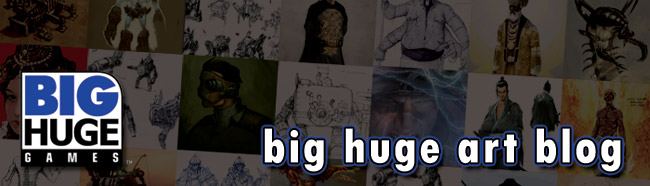 BIG HUGE ART BLOG