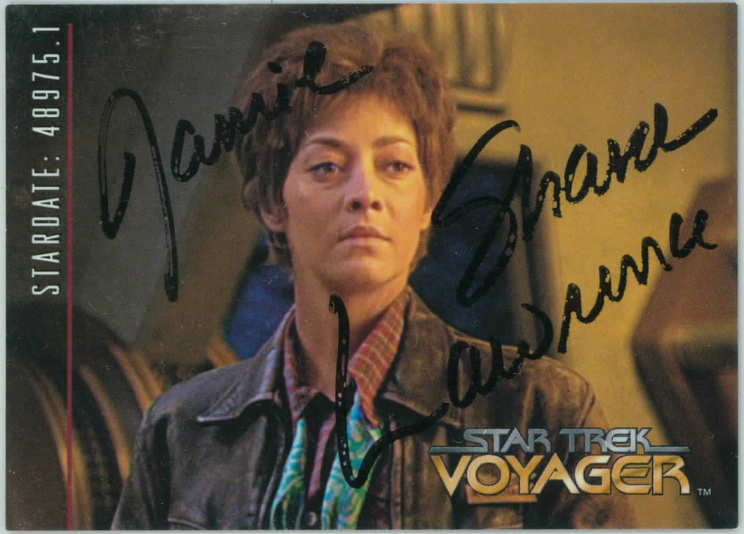 Letters From My Trek Sharon Lawrence No Longer Blue