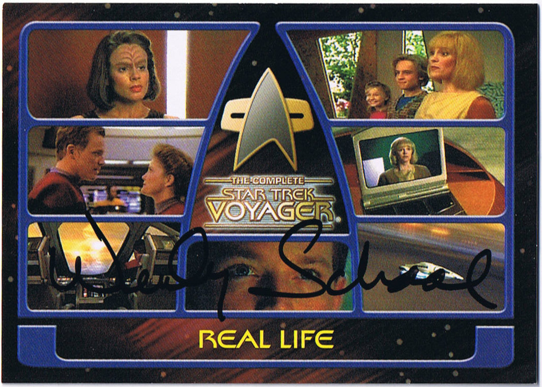 """American Dad Wife letters from my """"trek"""": from hologram to cartoon, wendy"""