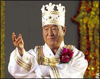 Sun Myung Moon - London Telegraph/AP photo