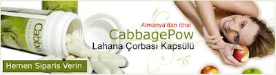CabbagePow Lahana Çorbası Zayıflama Kapsülü Banner