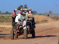 Siam Reap yolu - Kambocya