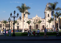 Lima Plaza de Armas'i