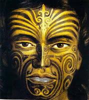 Maori kadını