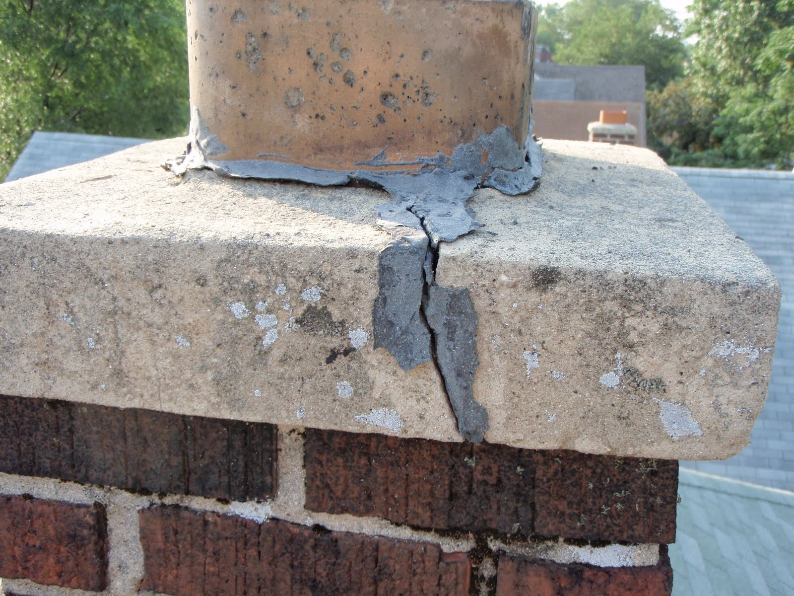 Download Free How To Patch Around A Chimney