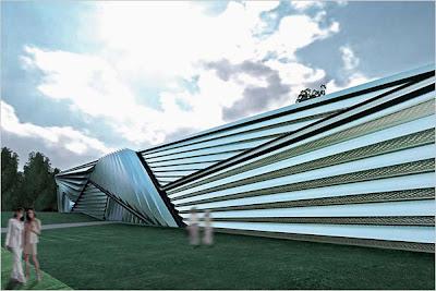 Michigan Art Museum_Zaha Hadid