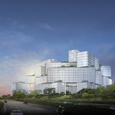 OMA's  second project in Singapore
