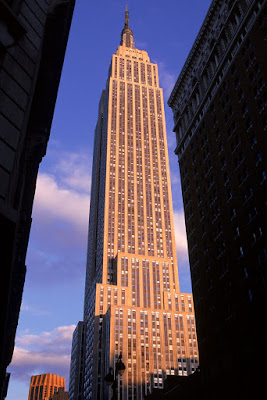 Empire State Building 1931 New York city by William Lamb