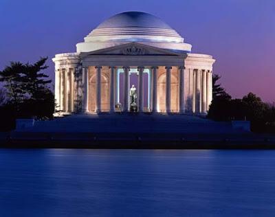 Thomas Jefferson Memorial. 1943 Washington D.C. by John Russel Pope