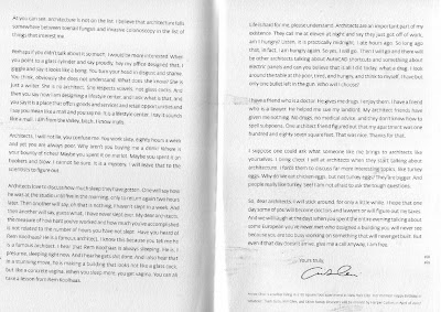 Annie Choi's open letter