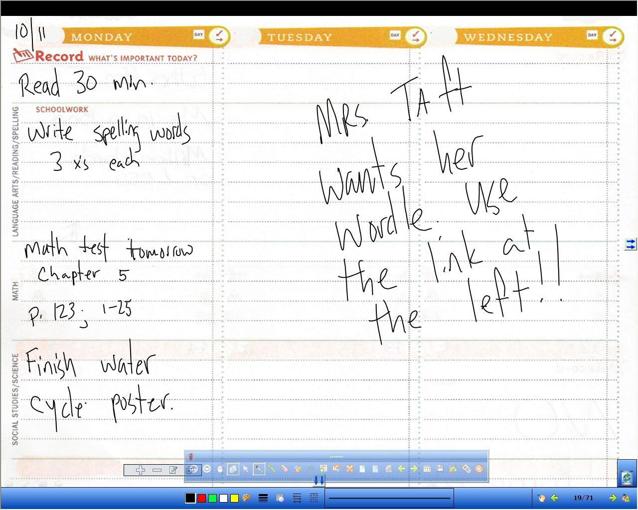 Mrtoneyhomeroom Homework