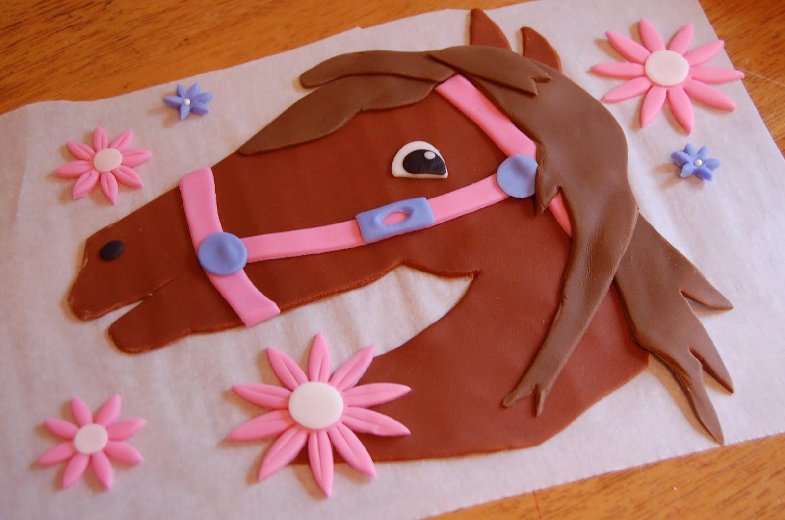Horse Wednesday Cake Topper