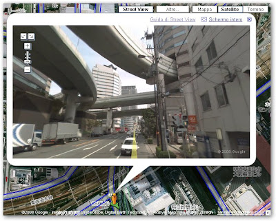 google street view giappone