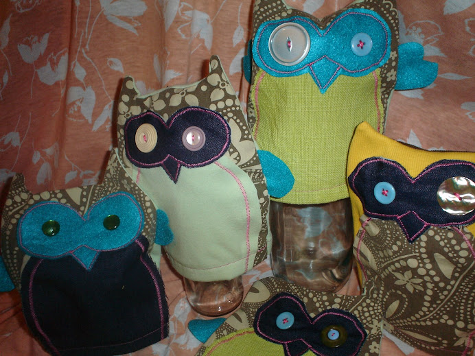 Owl Puppets - $12