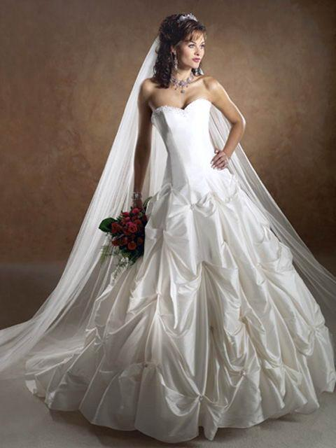 romantic wedding dress style