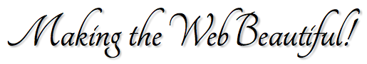 Tangerine font example