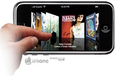 El iPhone es el dispositivo más popular para acceder a contendios WEB