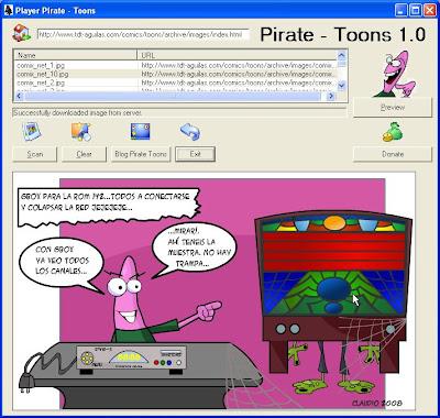 Nuevo Software para leer cada día los Pirate Toons