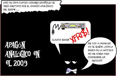 """Uno de cada cuatro hogares españoles se verá afectado, en 2009, por """"apagones analógicos"""""""