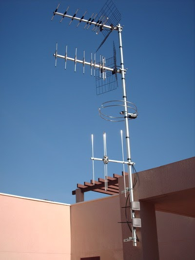 Televisi n digital sat lite televisi n digital terrestre - Antena de television ...