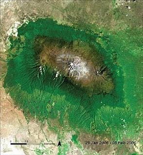 kilimandjaro Jänner 2006