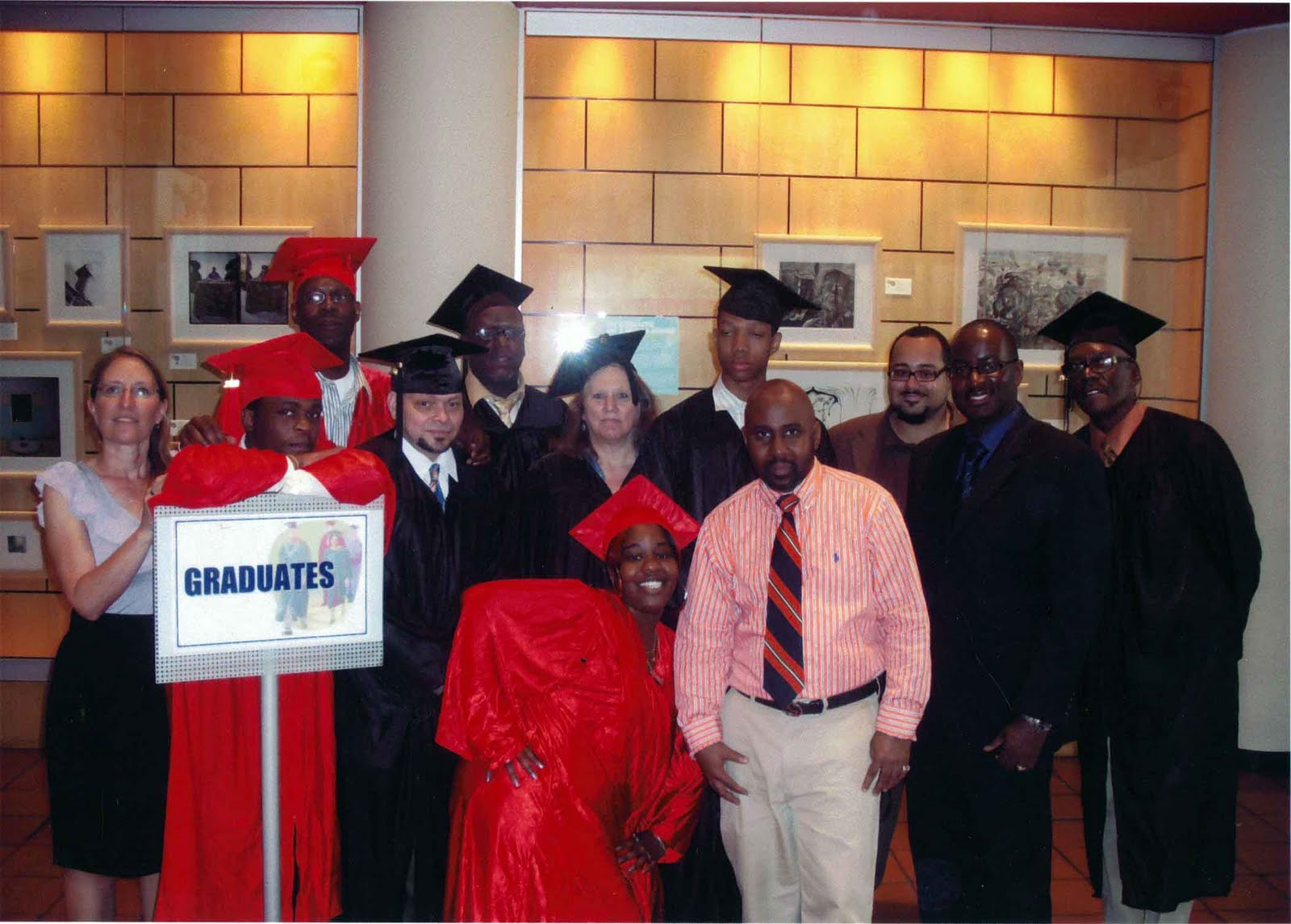 thirteen honors odyssey house residents at ged graduation odyssey