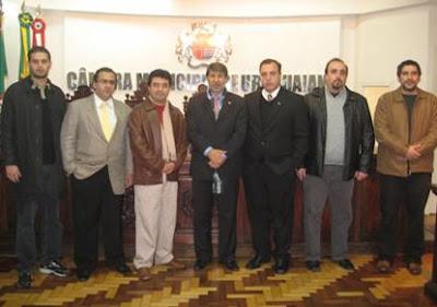 Comunidade palestina no Brasil e embaixador da Palestina