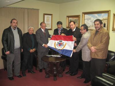 Prefeito de Uruguaiana, Embaixador da Palestina e comunidade