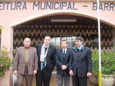 Embaixador da Palestina visita Barra do Quaraí