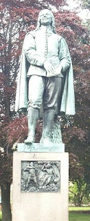 Statue of John Bunyan in Bedford
