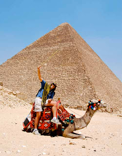 Wayne Dunlao Great Pyramid of Khufu Giza Egypt