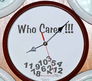 Who Cares Clock Fiji Laid Back Attitude