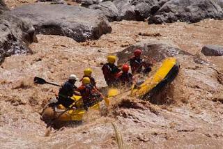 Wayne Pat dunlap River Rafting Mendoza River Argentina