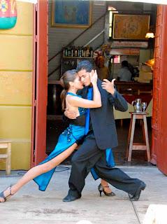Sexy Tango Dancing Caminito La Boca Buenos Aires