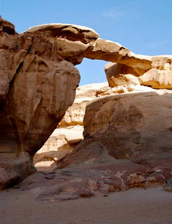 Bridge Rock Wadi Rum Judean Desert Jordan