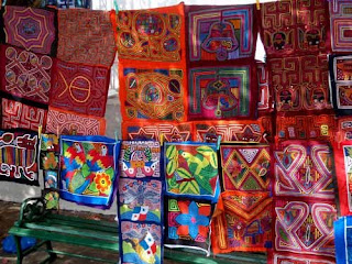 San Blas Island Indian Art Panama