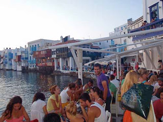 Little Venice Old Town Mykonos Greece