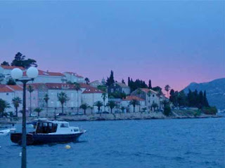 Korcula at Sunset Croatia