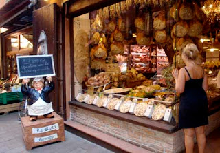 Great Deli Food Bologna Italy