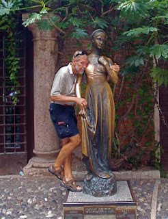 Wayne with Juliet Verona Italy